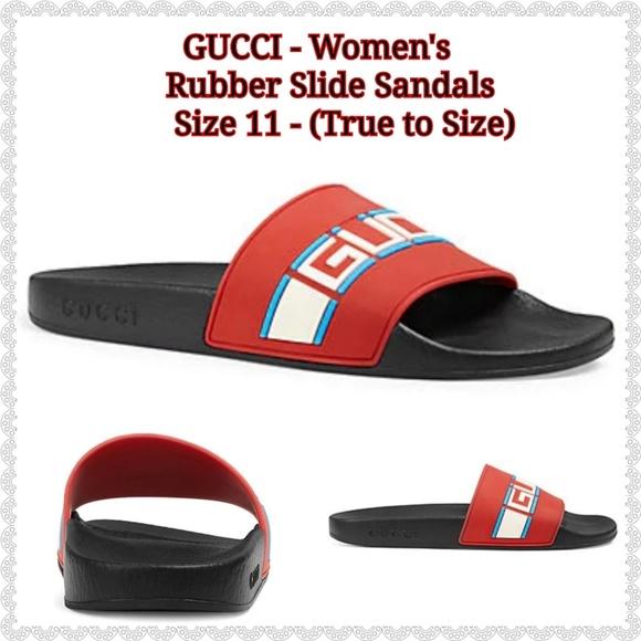 a5f28d229b7 🌹NEW 🌹GUCCI - Women s Rubber Slide Sandals
